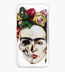 Frida Kahlo Half Skull iPhone Case/Skin