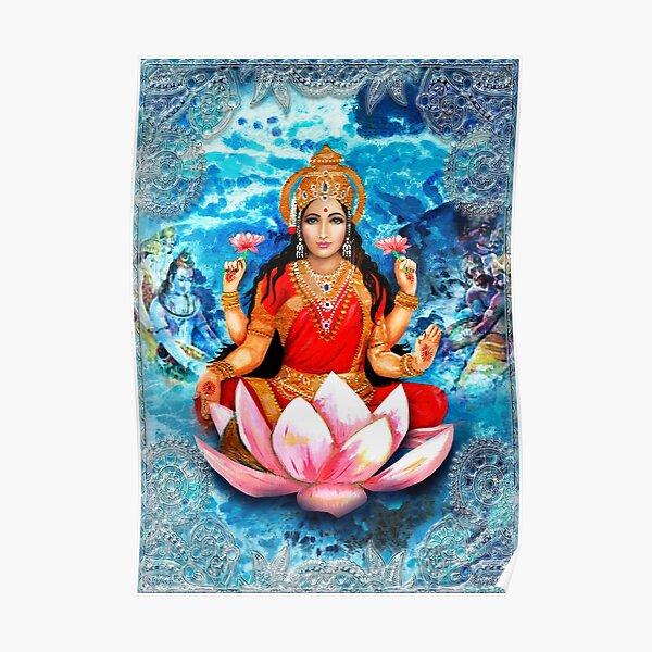 Lakshmi and the Churning Ocean Poster
