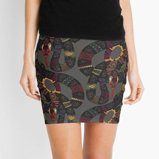 geo snakes lead Mini Skirt