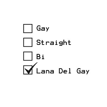 Gay for Lana Del Rey by MissElphie