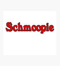 Schmoopie sticker  Photographic Print