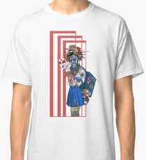 cyberpunk girl Classic T-Shirt