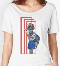 cyberpunk girl Women's Relaxed Fit T-Shirt