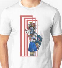 cyberpunk girl Unisex T-Shirt