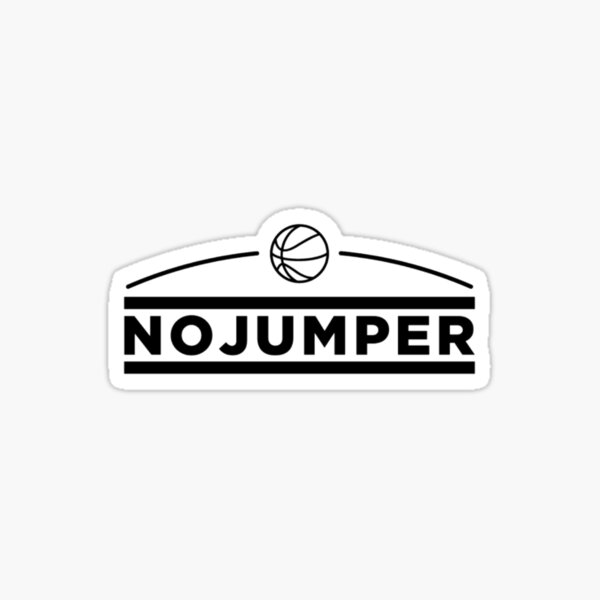No jumper Pegatina