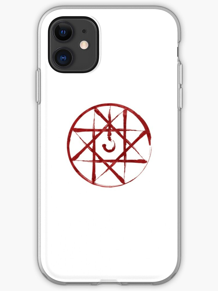 coque iphone 8 fullmetal alchemist