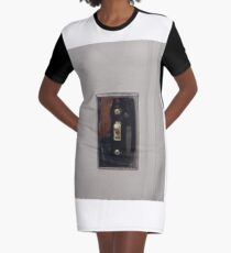 Technopunk Steempunk Graphic T-Shirt Dress