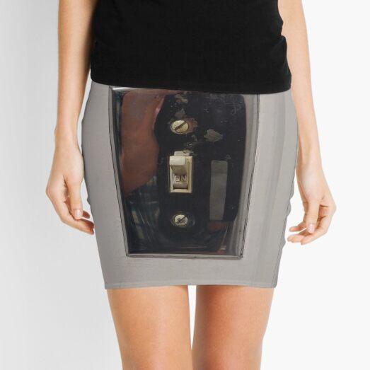 Technopunk Steempunk Mini Skirt