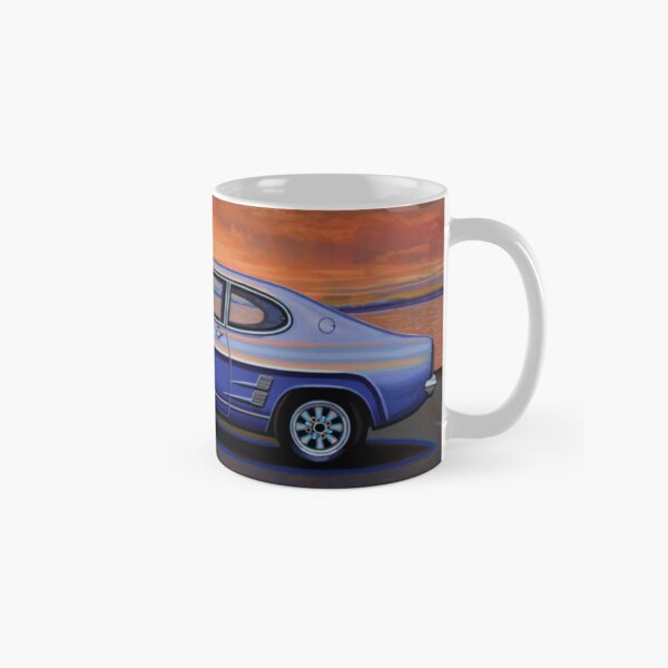 Ford Capri 1969 Painting Classic Mug