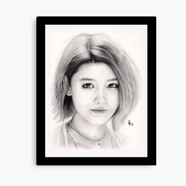 Girls' Generation Sooyoung Choi Canvas Print
