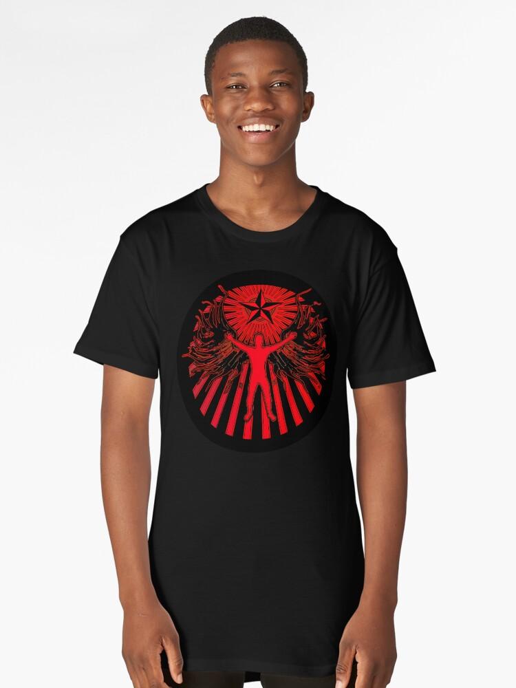 THE LIGHT BRINGER Long T-Shirt Front