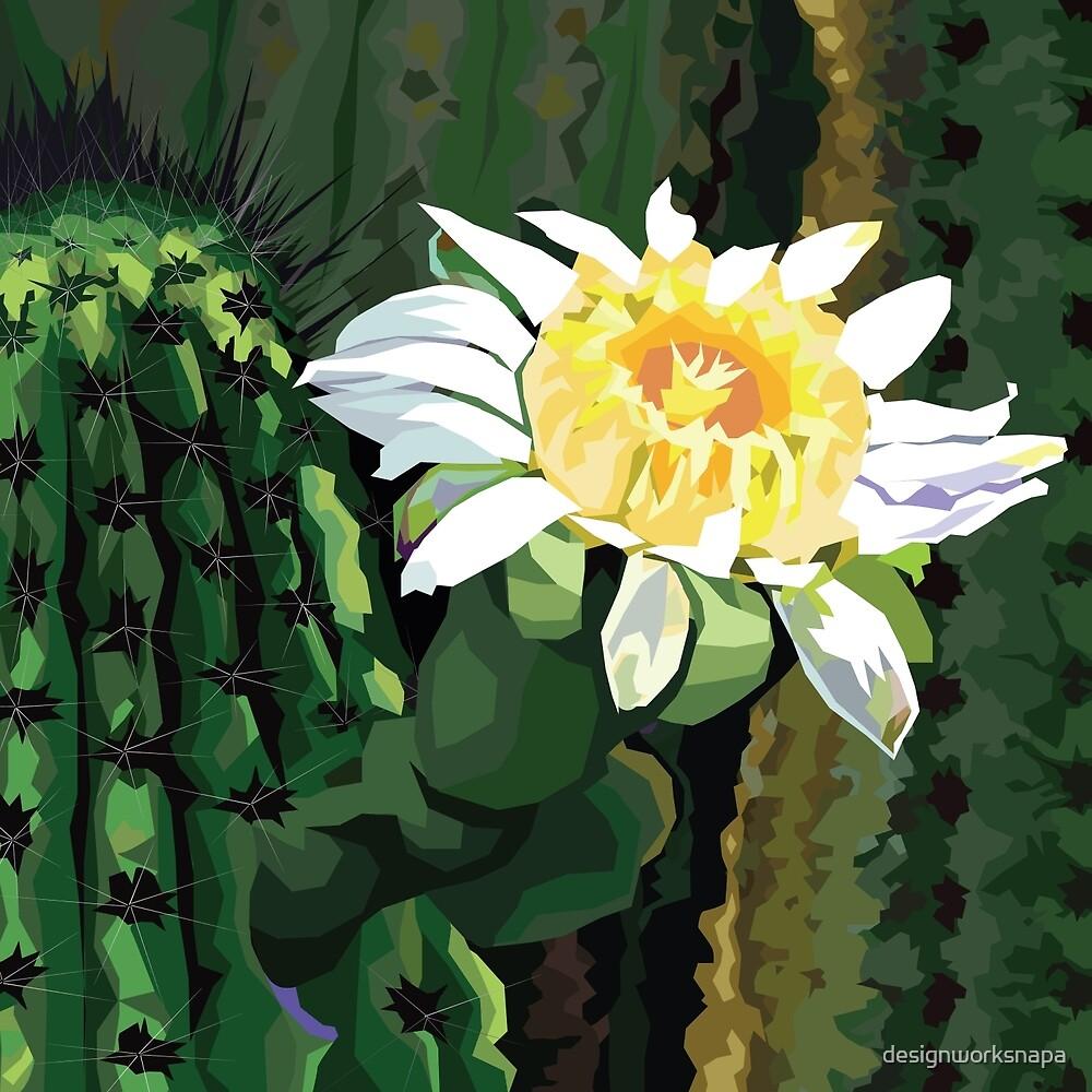 Cactus Flower by designworksnapa