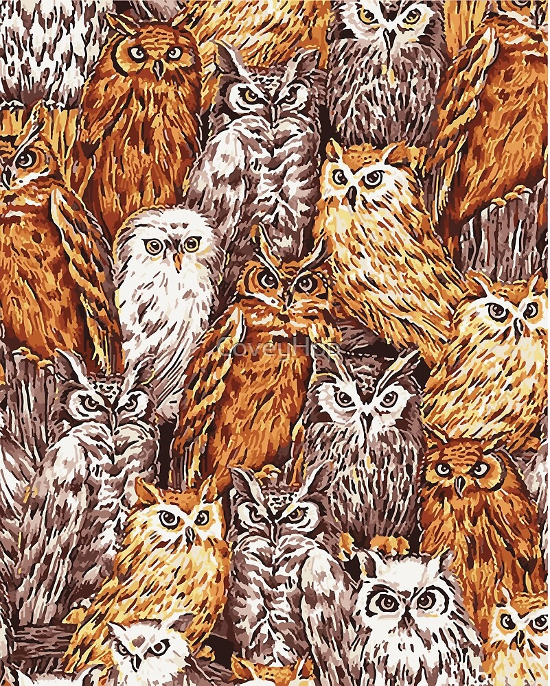 Parliament of Owls by CoveyHop