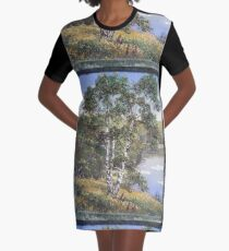 Technopunk Steampunk Graphic T-Shirt Dress