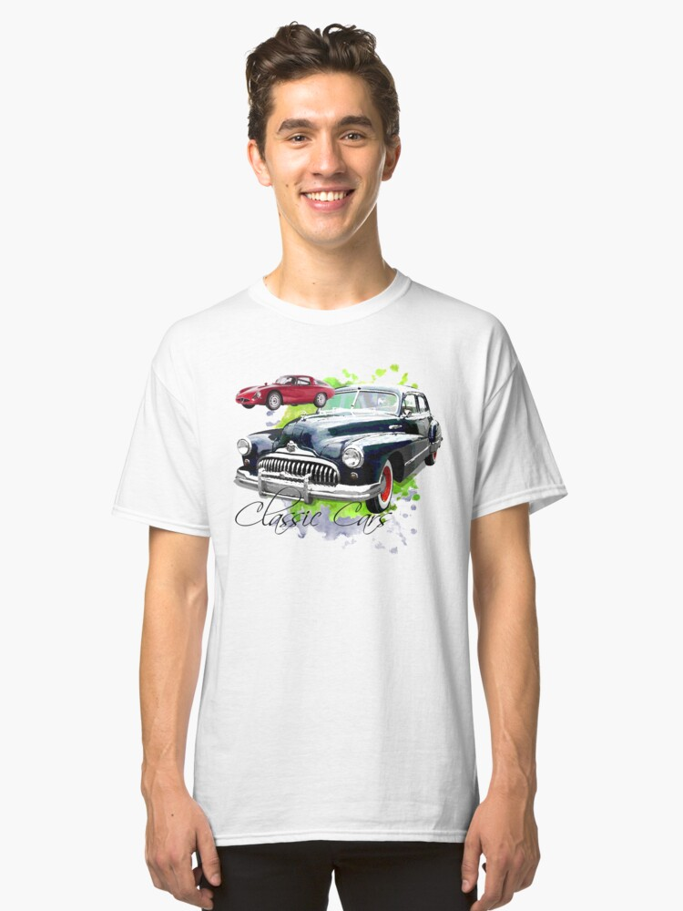 Classic Cars Classic T-Shirt Front