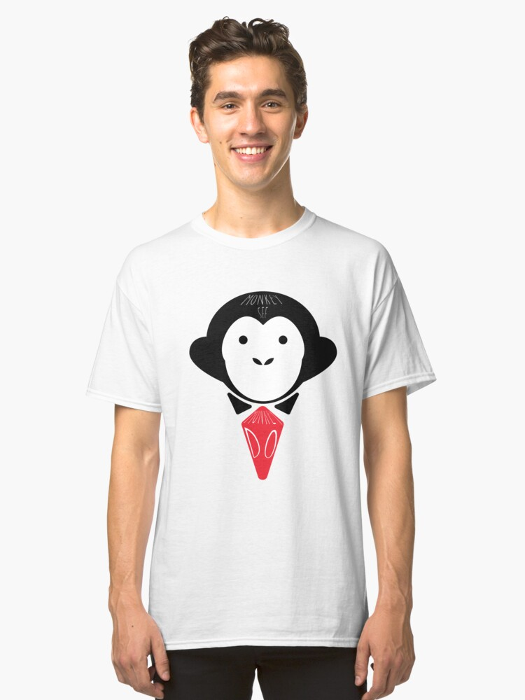 Monkey See Monkey Do Classic T-Shirt Front