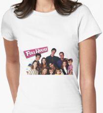 Full House Women's Fitted T-Shirt