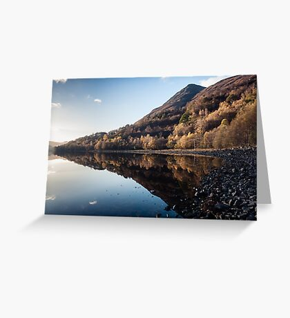Autumn Reflections at Loch Leven Greeting Card