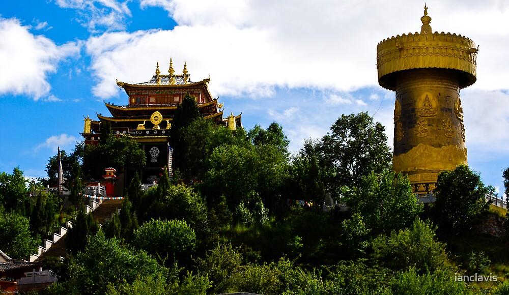Zhongdian Temple by ianclavis