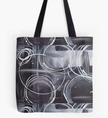 New York Rain Drops Tote Bag