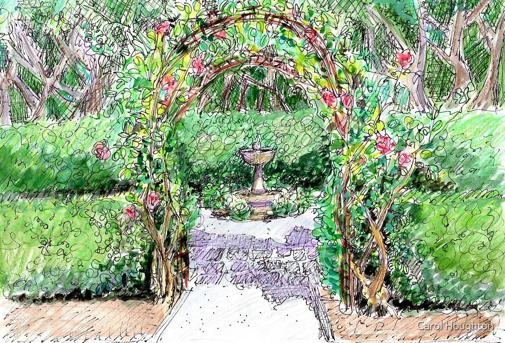 Rose Arbor by Carol Houghton