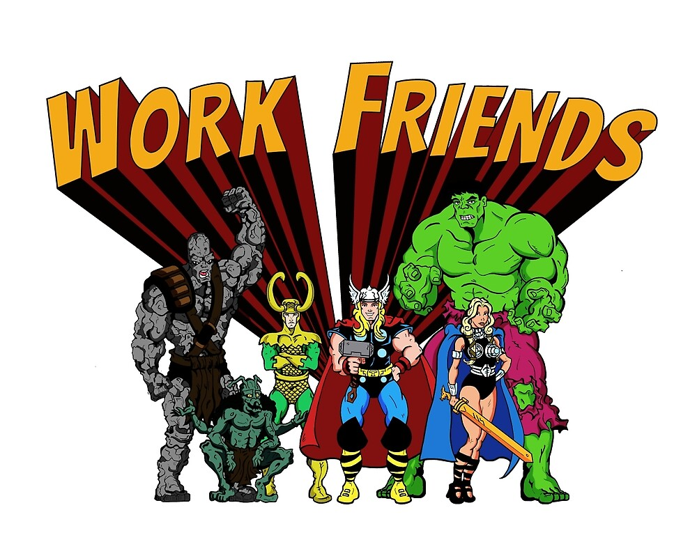 Work Friends by -MRW-