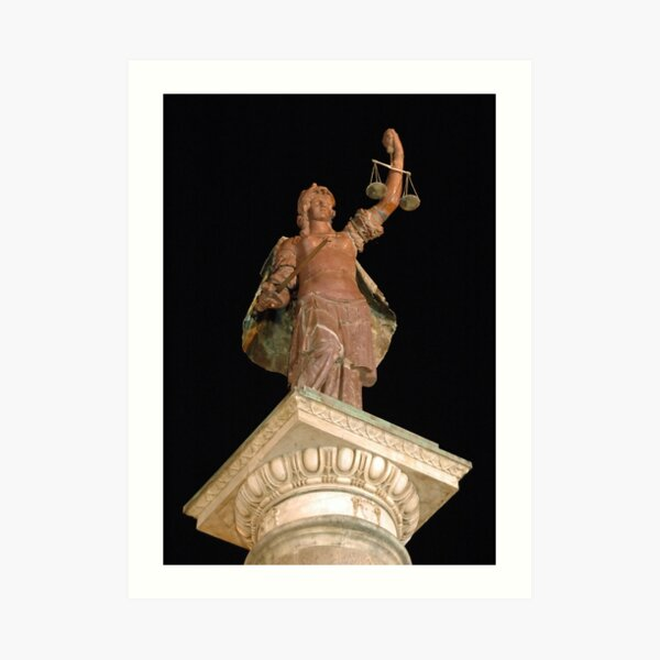 Justice in Florence Art Print