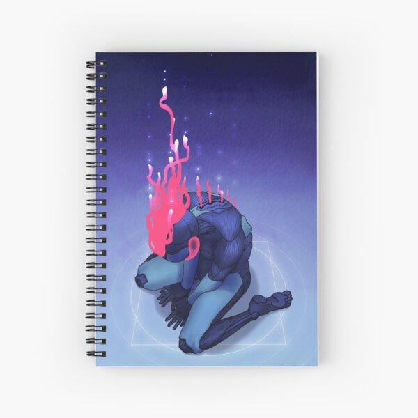 Uploading Spiral Notebook