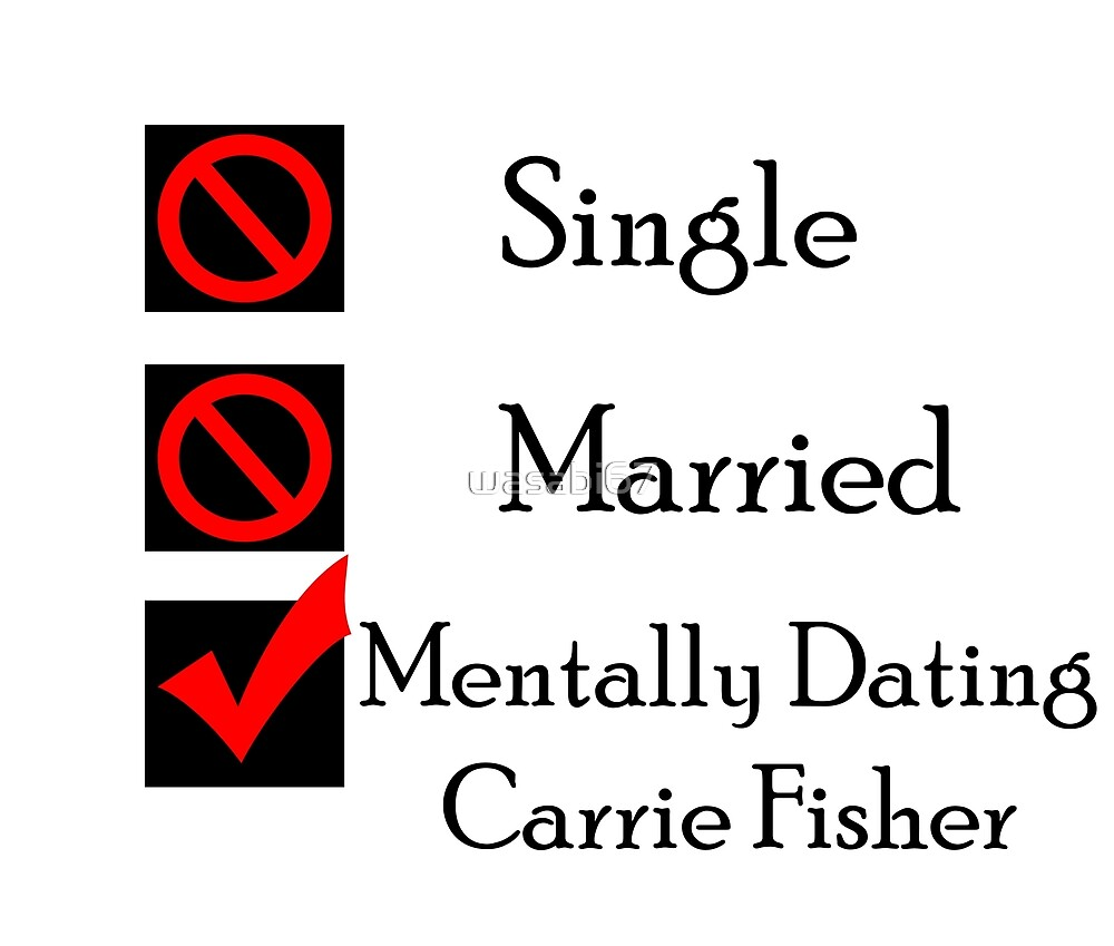 Mentally Dating Carrie Fisher by wasabi67