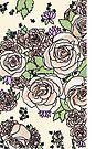 «floral pálido» de Jennie Clayton