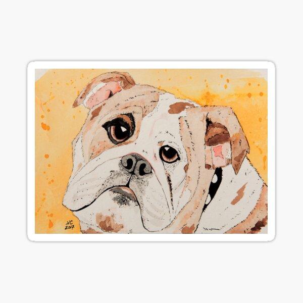 Dougie wants a doggie biscuit Sticker