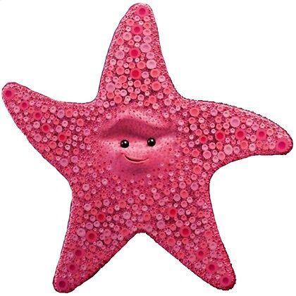 Peach the Starfish by kathumphrey