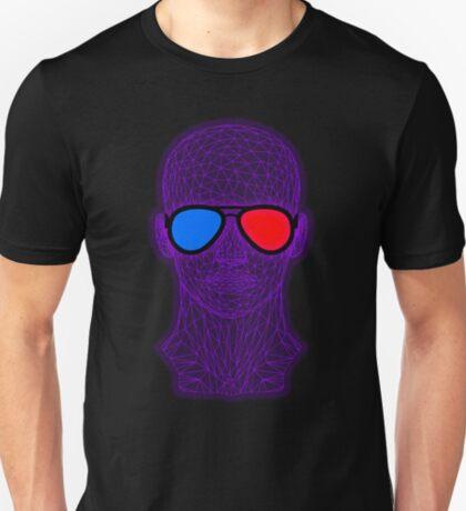 Not Real Enough - Virtual Reality - 3D Glasses T-Shirt