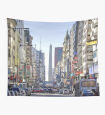 Buenos Aires Skyline  Wall Tapestry