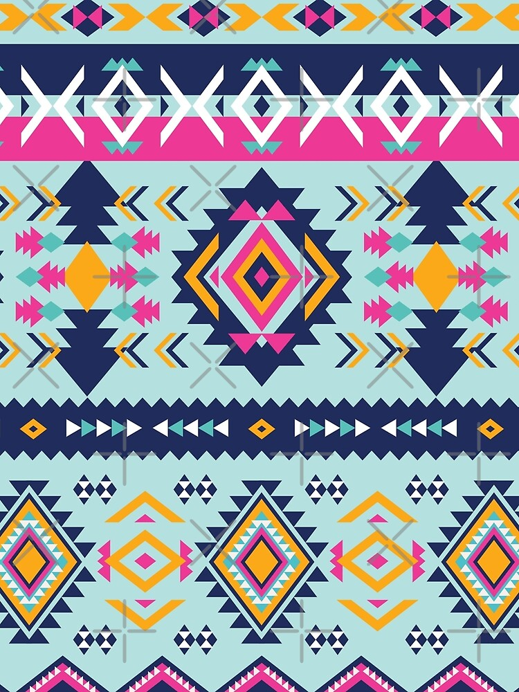 Classic Traditional Nordic or Aztec Color Pattern by Skullz23