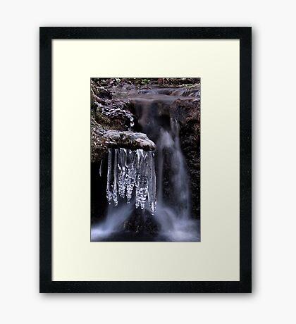 Frosty Waters II Framed Print