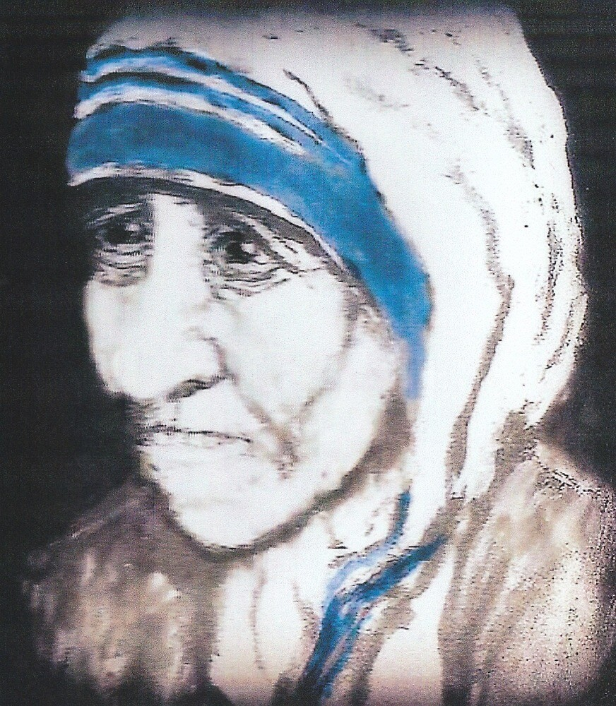 Madre Teresa by michael kenny