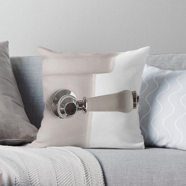 Handle of toilet bowl - Ручка унитаза Throw Pillow