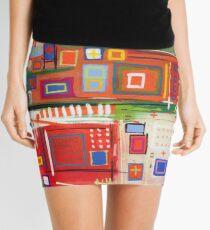 City Map Mini Skirt
