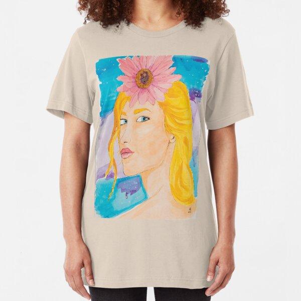 Unforgettable Gaze Slim Fit T-Shirt