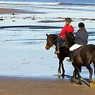Follow Me  - Saltburn Beach by Trevor Kersley
