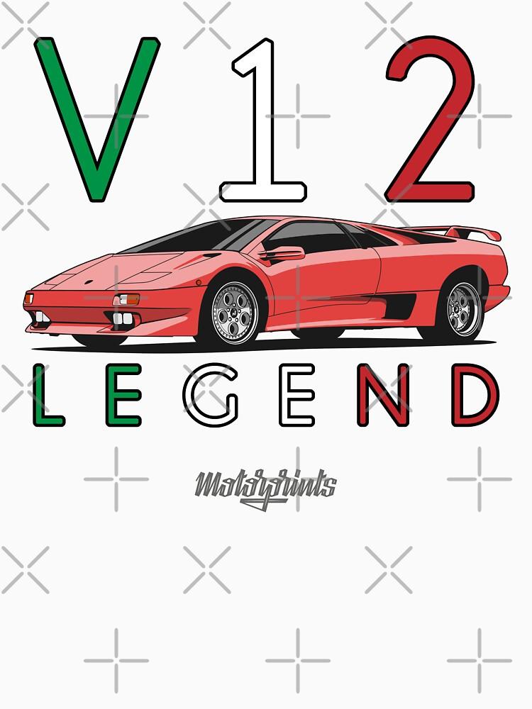 V12 Legend (red) by MotorPrints