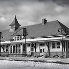Fort Edward Train Station by Kendall McKernon