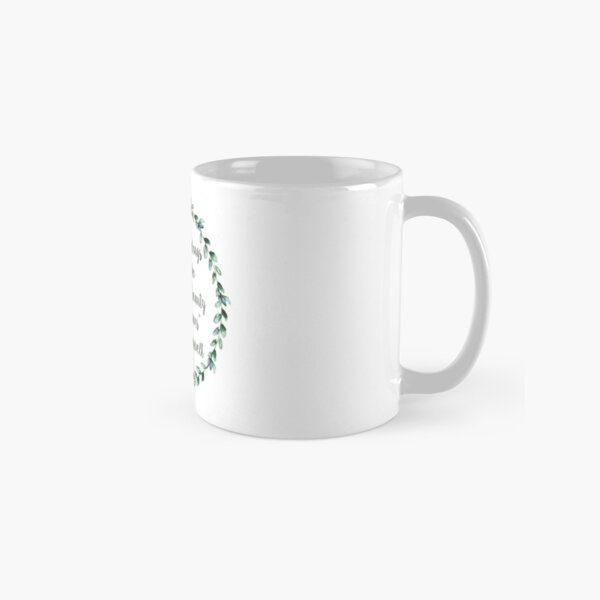 The future belongs to those who believe in the beauty of their dreams Classic Mug
