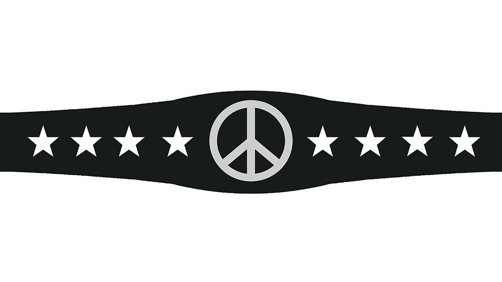 Wrestle for Peace Belt by Wrestle Peace