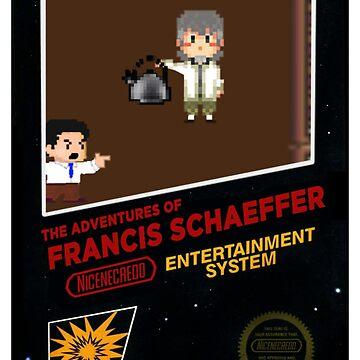 Francis Schaeffer 8-Bit Video Game Box Art by TheologyThreads