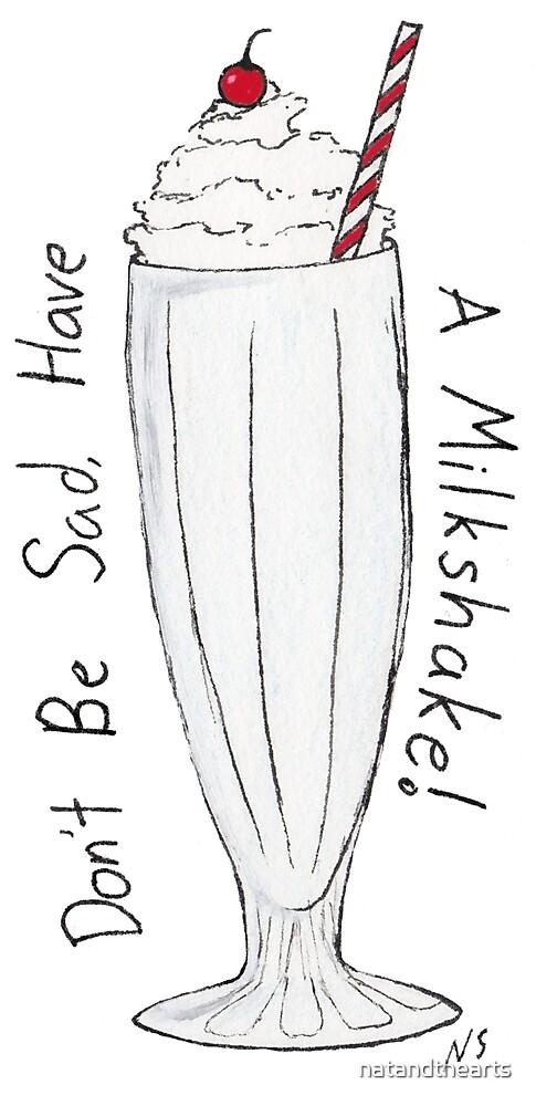 Don't Be Sad, Have a Milkshake by natandthearts