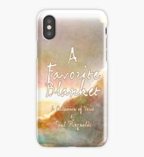 A Favorite Blanket iPhone Case/Skin