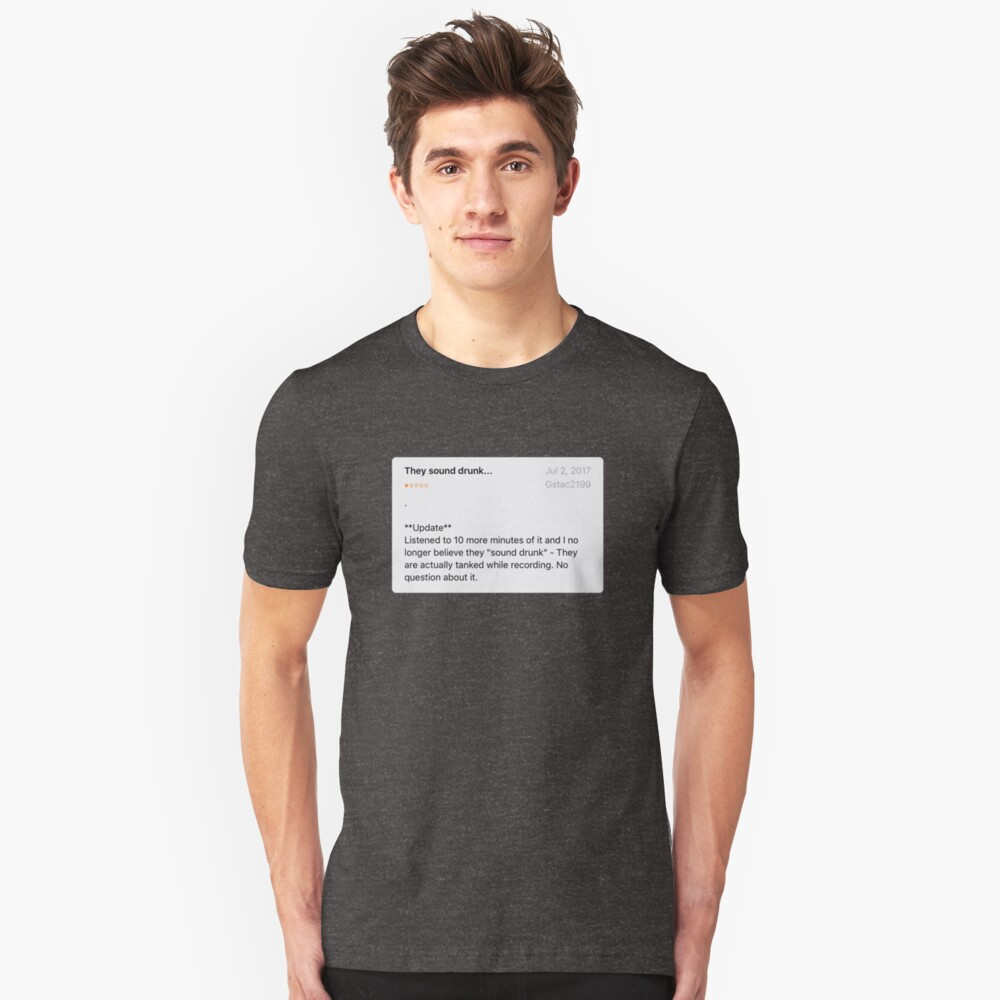 The STACY Review Unisex T-Shirt Front