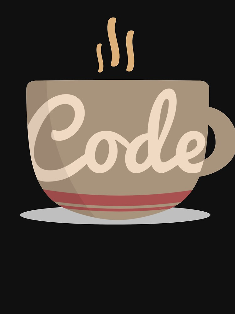 Code Coffee Cup Funny Programmer Gift by 14thFloor